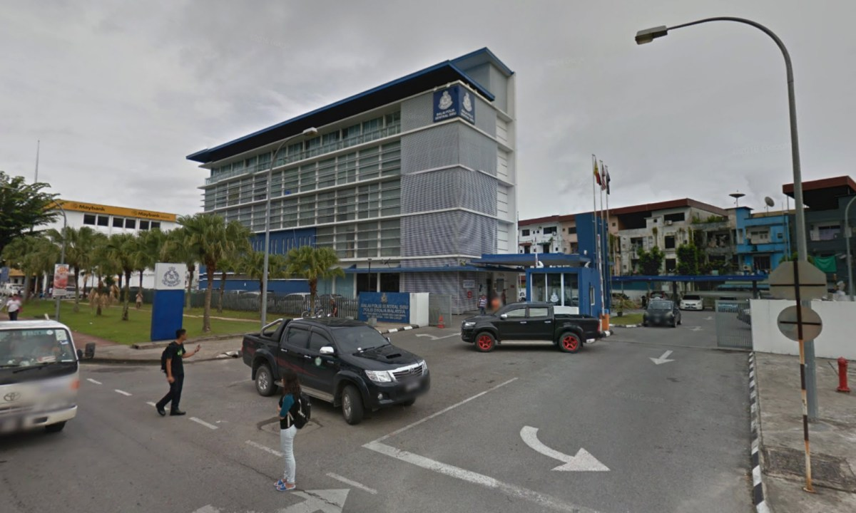 Central Police Sibu in Sarawak, Malaysia, where the investigation is being carried out. Photo: Google Maps