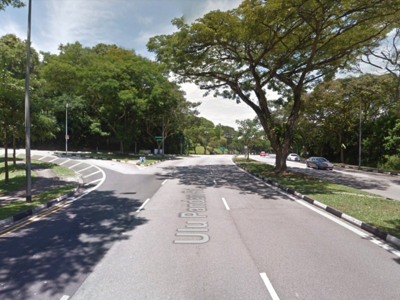 The junction of Ulu Pandan Road and Holland Road, Singapore. Photo: Google Maps