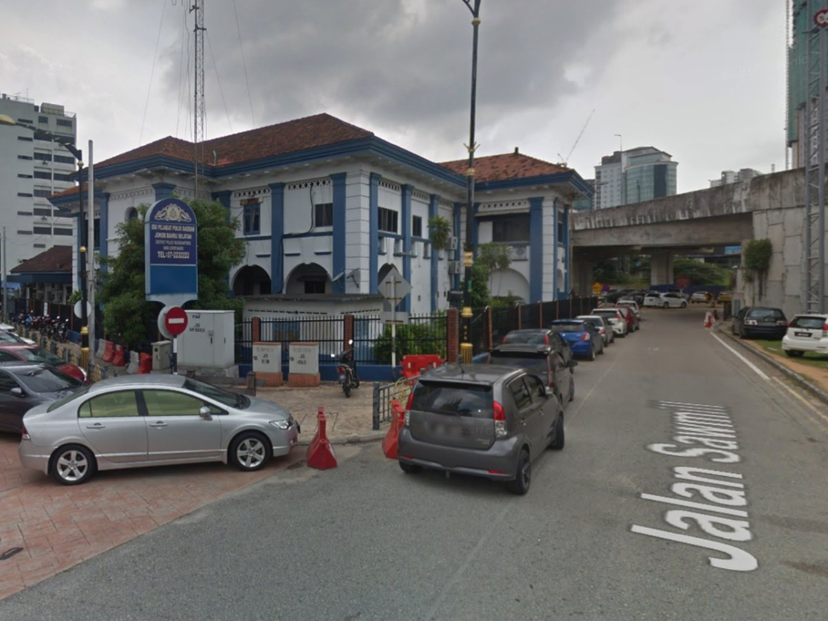 The Police head office in South Johor Bahru,  Malaysia. Photo: Google Maps