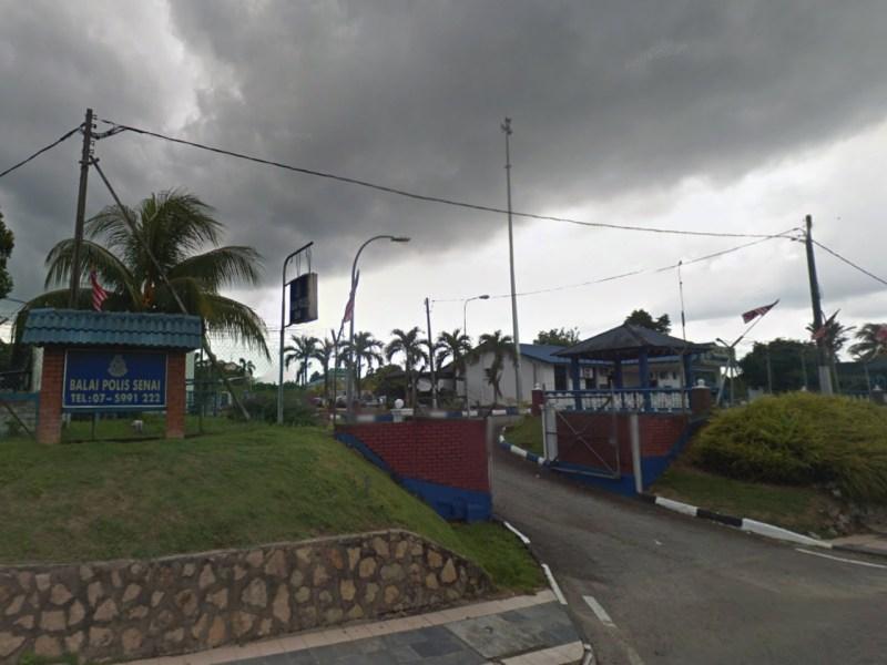 Senai Police Station in Johor, Malaysia. Photo: Google Maps
