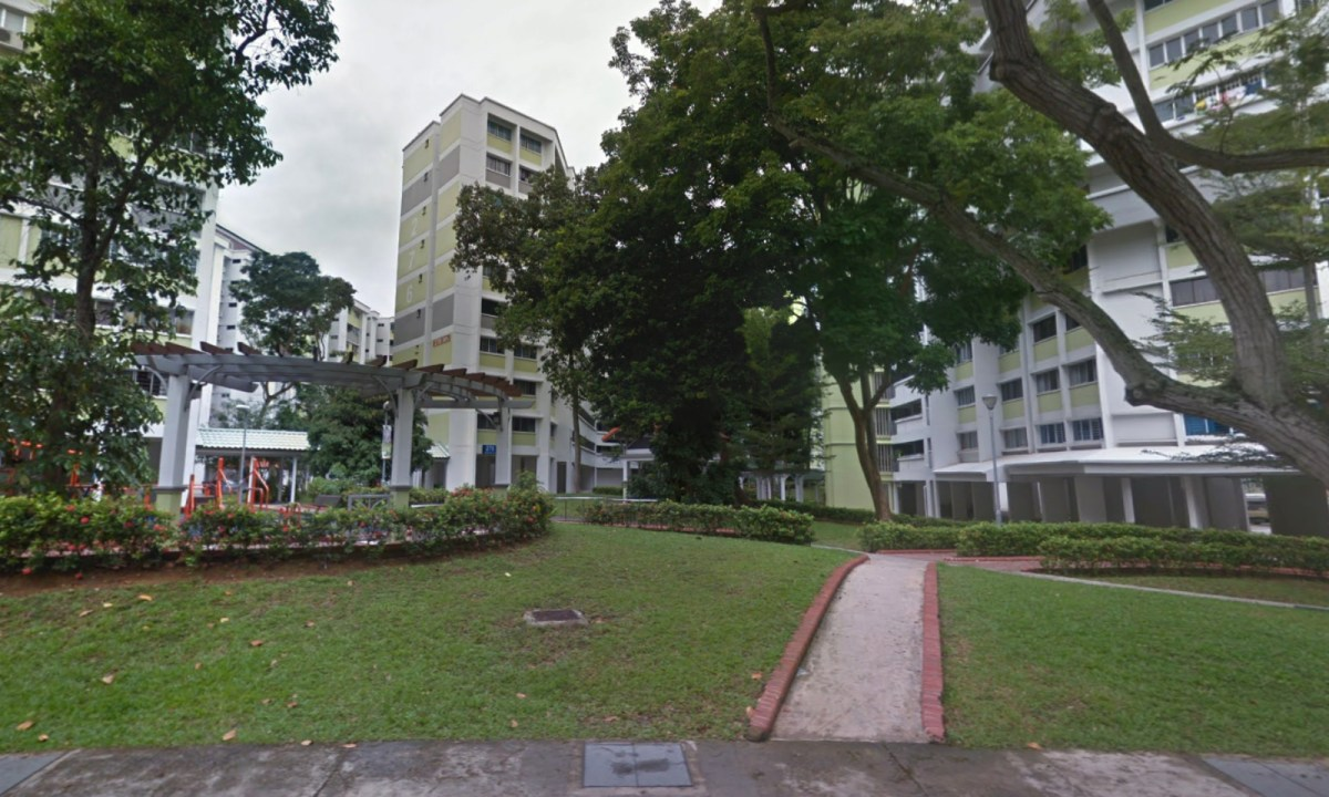 Block 276 on Tampines Street 22 in Singapore. Photo: Google Maps