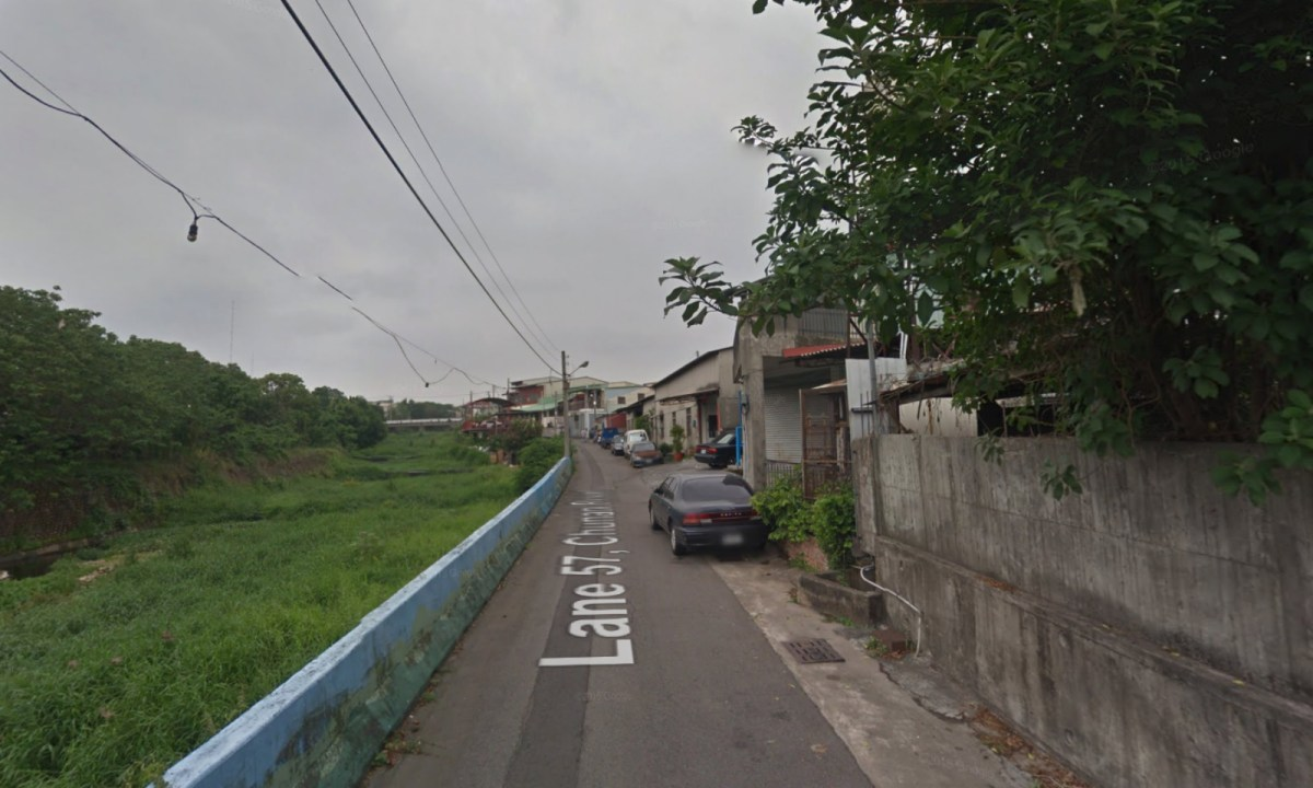 The neighborhood on Lane 57 of Chunan Road in Nantun District, Taichung City. Photo: Google Maps