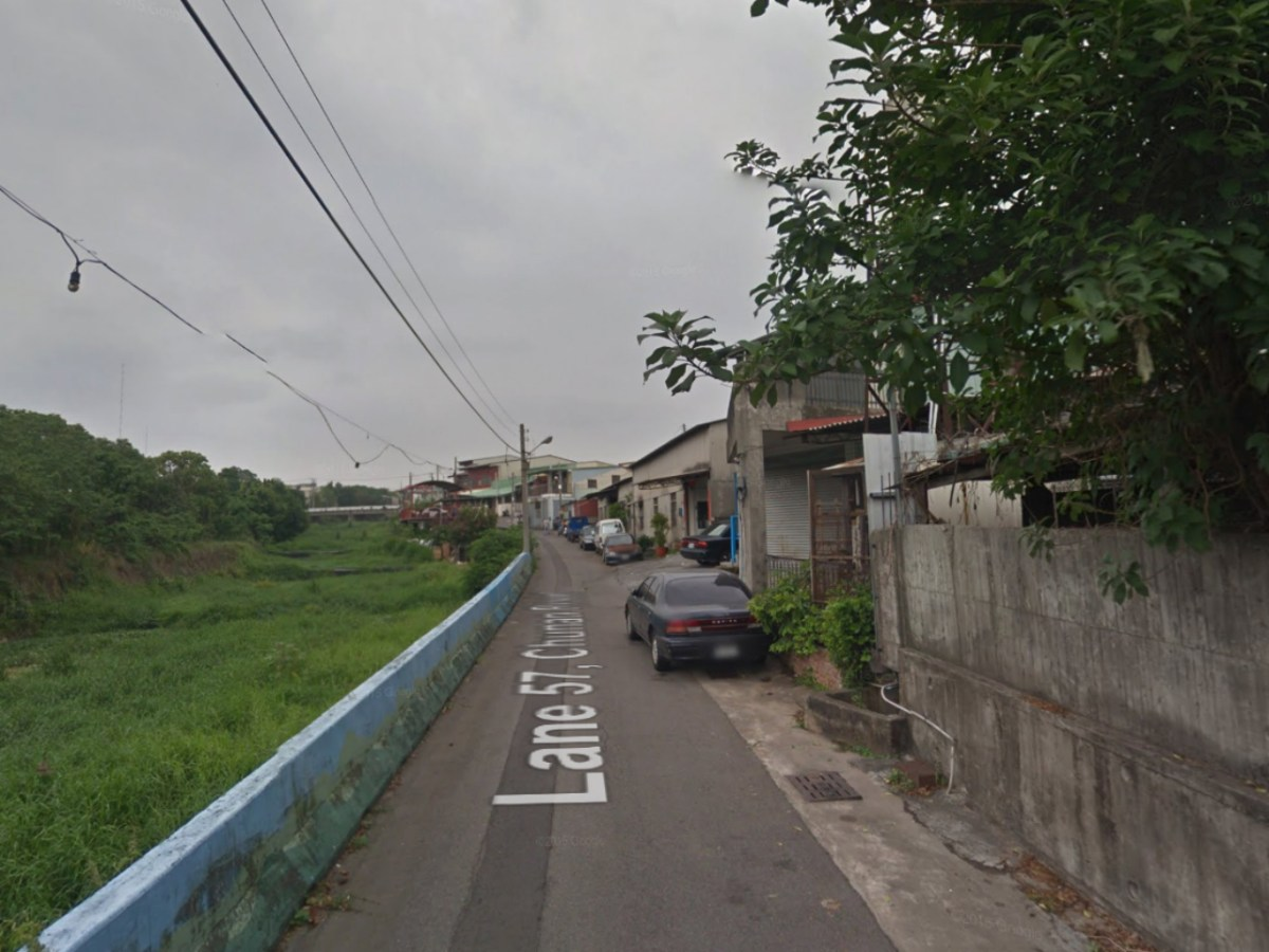 The neighborhood on Lane 57 of Chunan Road in Nantun District, Taichung City. Photo: Google Maps