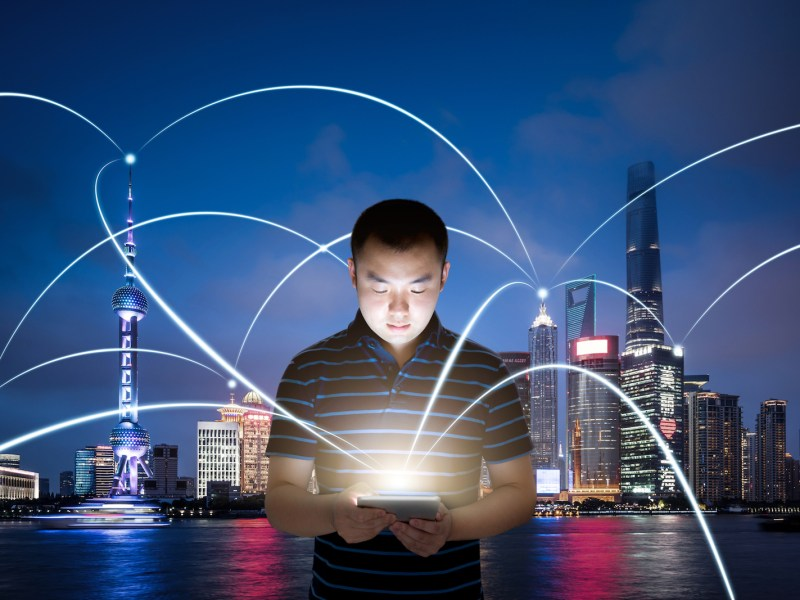Chinese people have shown great capacity to adopt new technologies and don't have the concerns about privacy over personal data compared to people in the West. Photo: iStock