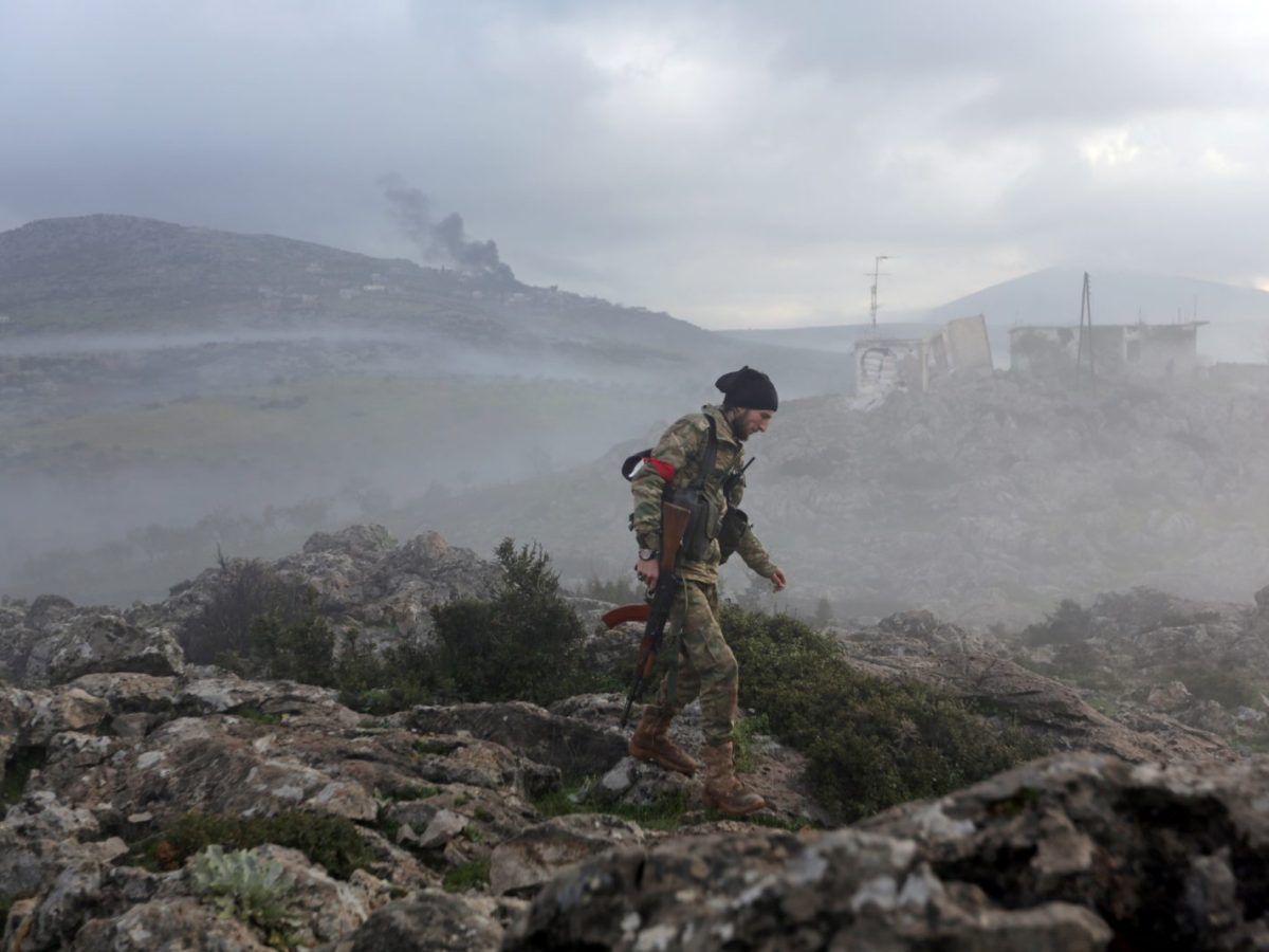 A Turkish-backed Free Syrian Army fighter is seen in Afrin, Syria. Photo: Reuters/ Khalil Ashawi