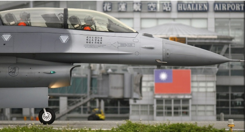 Taiwan fighters and airmen are overstretched with interception missions as more Chinese aircraft penetrate the island's air border. Photo: Taiwanese Air Force