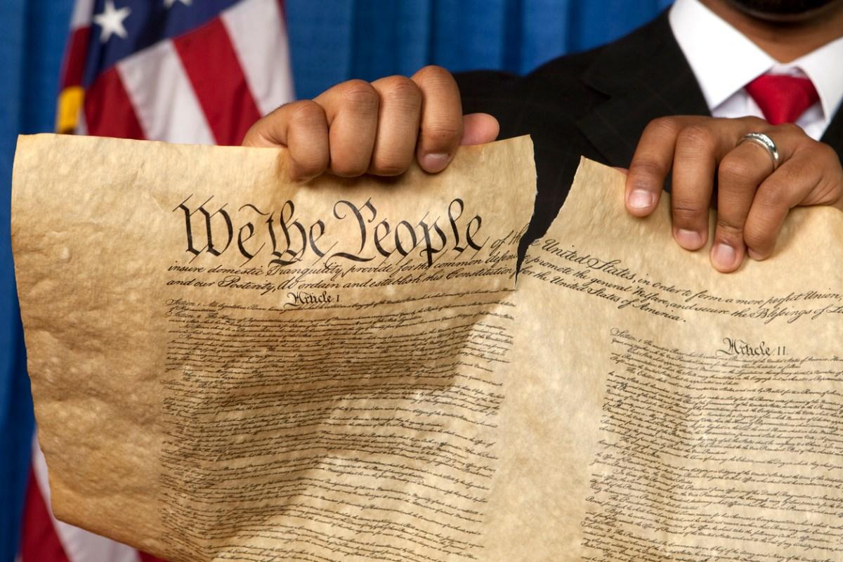Bill of Rights. Photo: iStock