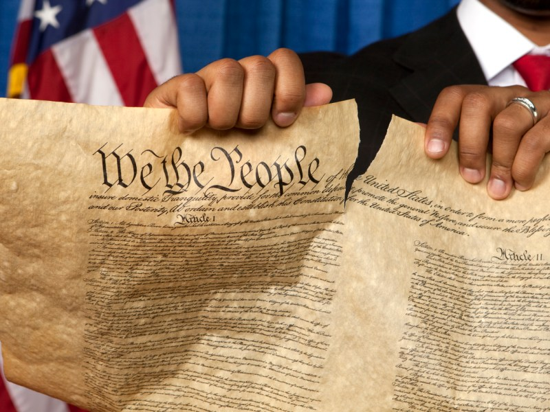 Bill of Rights. Photo: iStock