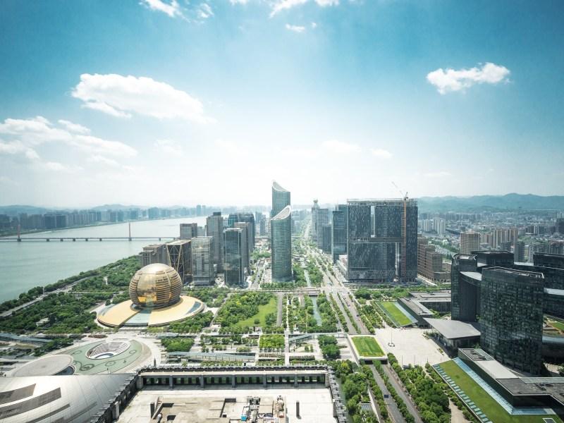 Hangzhou Qianjiang CBD. Photo: iStock