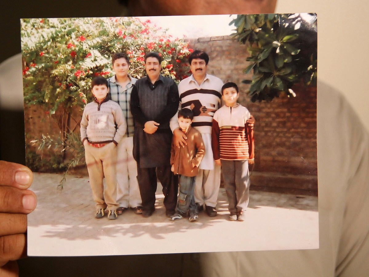 A photo taken in April 2016 showing Shakil Afridi, in black, the jailed Pakistani doctor who was recruited by the CIA to help find Osama bin Laden. Years after his fake vaccination program helped the CIA track and kill bin Laden, he languishes in jail, abandoned by the US, say supporters. Photo: AFP/ SS Mirza