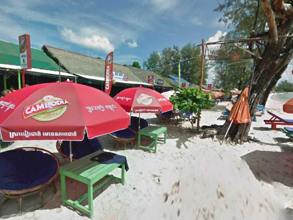 Cambodia's coastal resort of Sihanoukville Photo: Google Maps