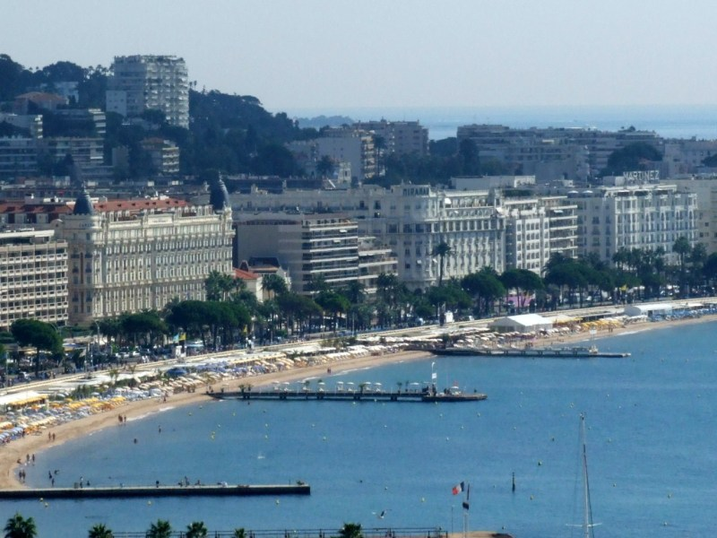 Cannes' famous Croisette Photo: wikipediacommons