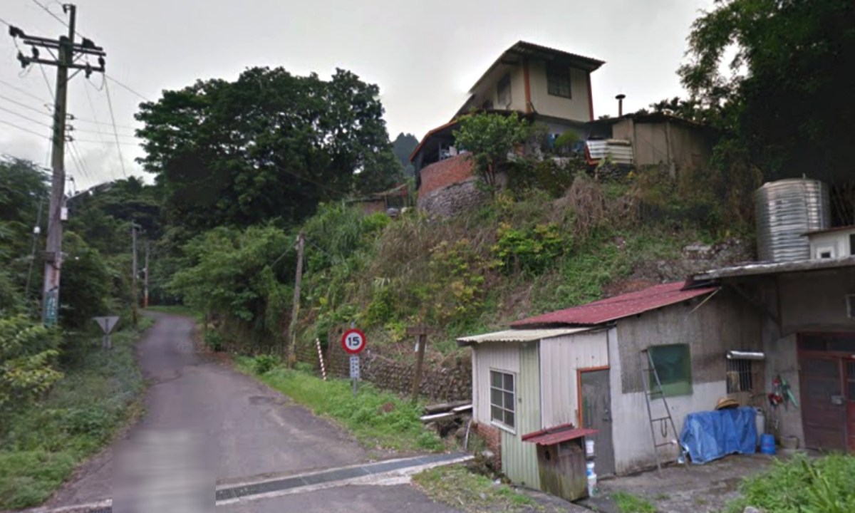 Chanye Road, Zhudong Township, Hsinchu county, Taiwan. Photo: Google Maps