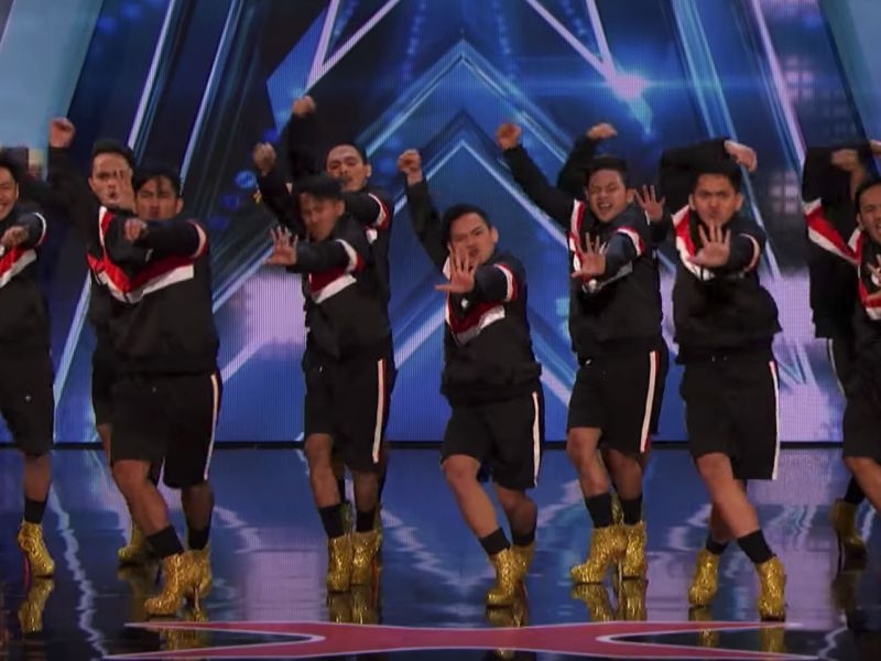Filipino dance group Junior New System perform in 'America's Got Talent'. Photo: YouTube