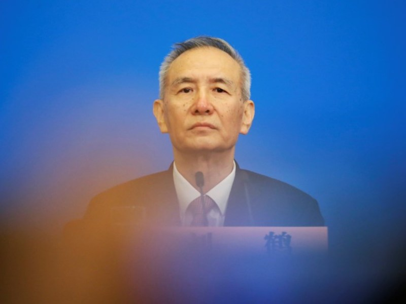 Vice-Premier Liu He will head China's delegation in trade talks next week in Washington. Photo: Reuters / Jason Lee