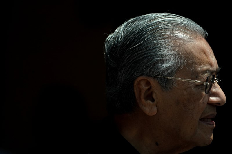 New Malaysian Prime Minister Mahathir Mohamad speaks during a news conference in Kuala Lumpur, May 11, 2018. Photo: Reuters/Athit Perawongmetha