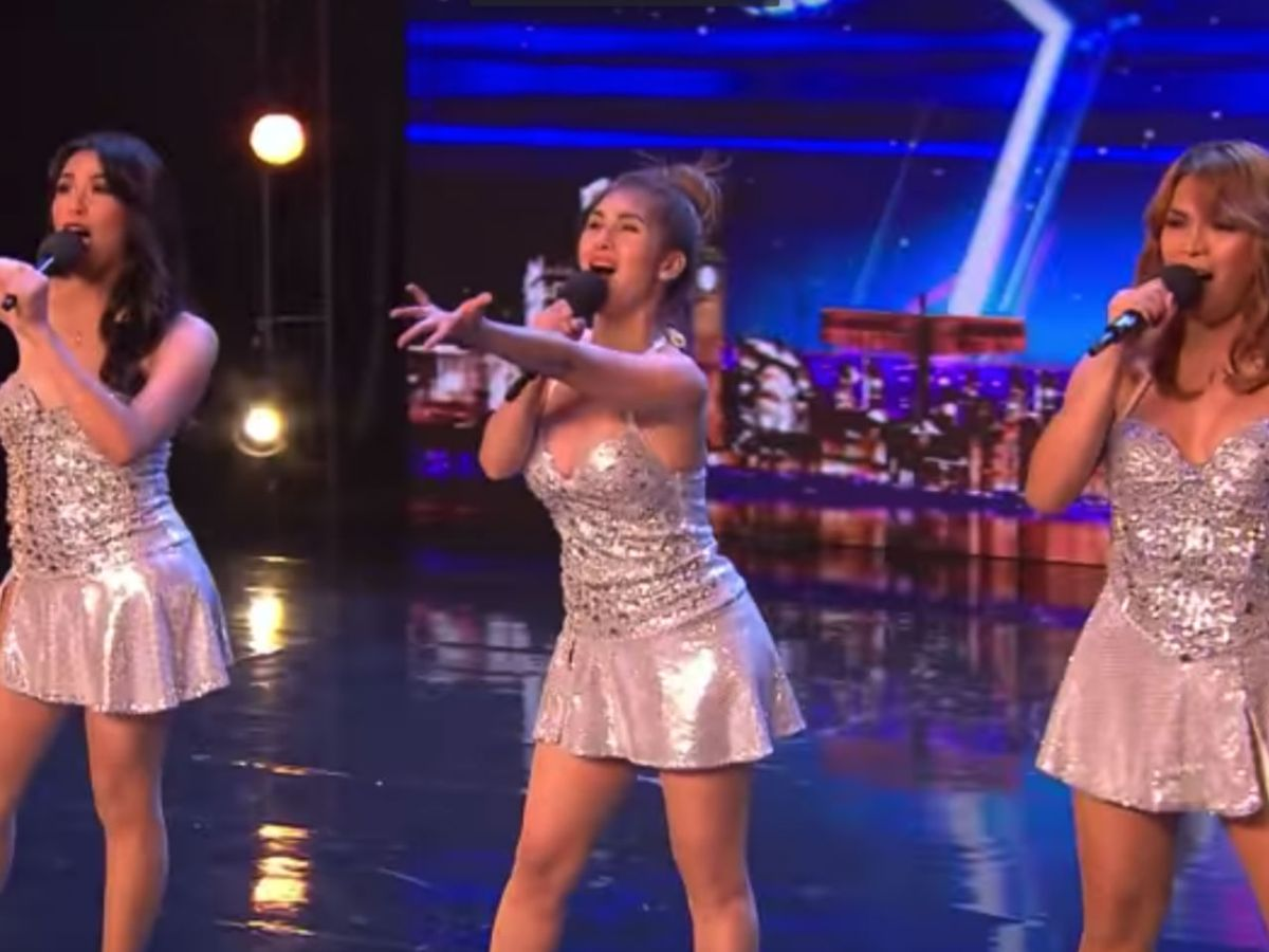 Filipino singing group Miss Tres performing at Britain's Got Talent. Photo: YouTube