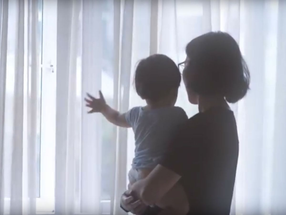 Most mothers want a better work-life balance, according to a survey. Photo: YouTube