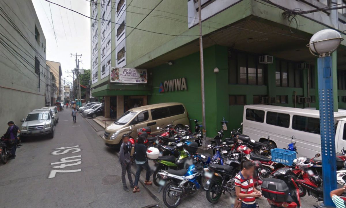 The Overseas Workers Welfare Administration. Photo: Google Maps