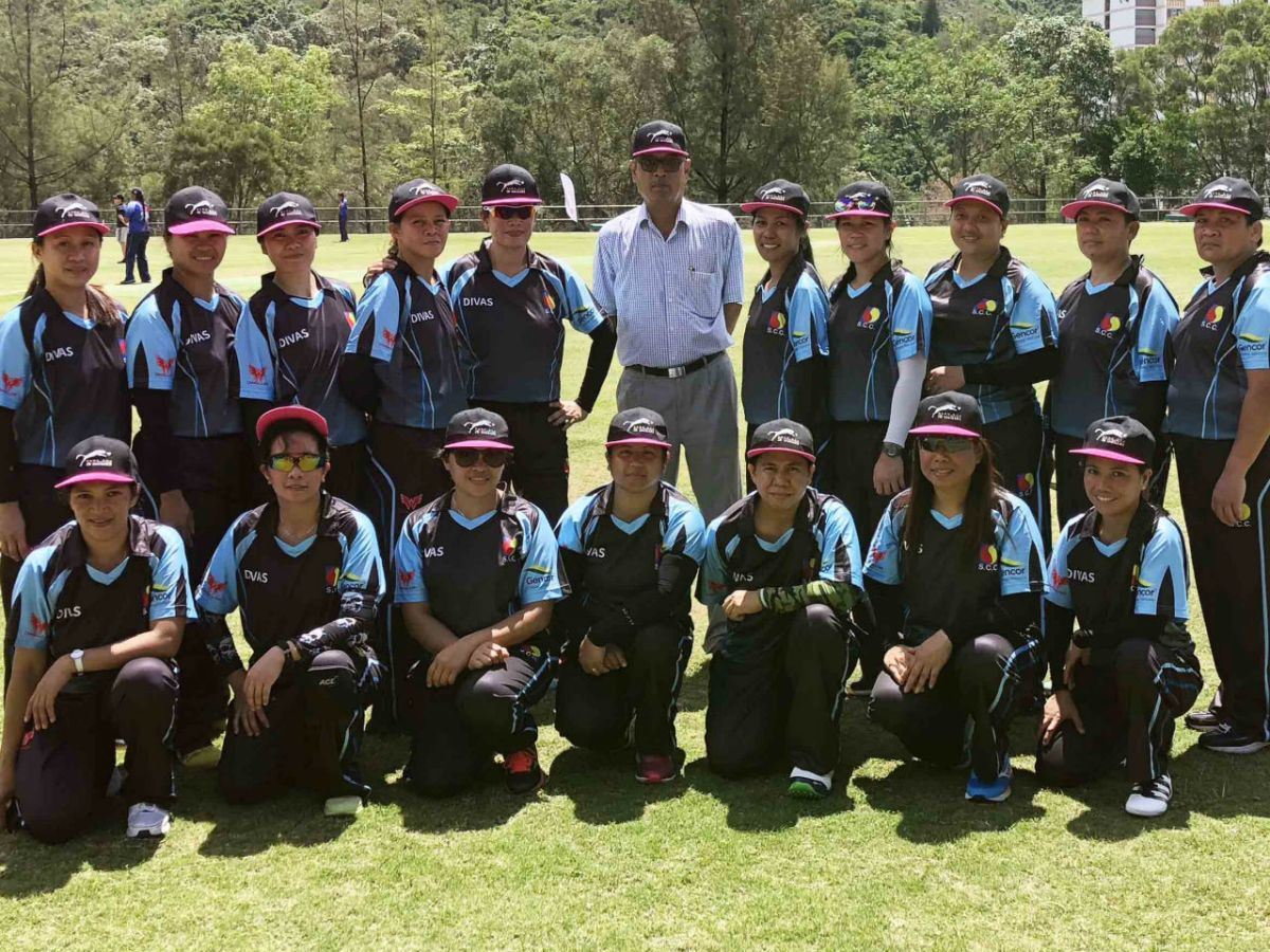 The SCC Divas was formed in May last year. Photo: Cricket Hong Kong