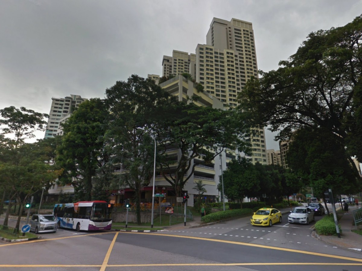 The neighborhood in Dover, Singapore, where the cobra was found. Photo: Google Maps