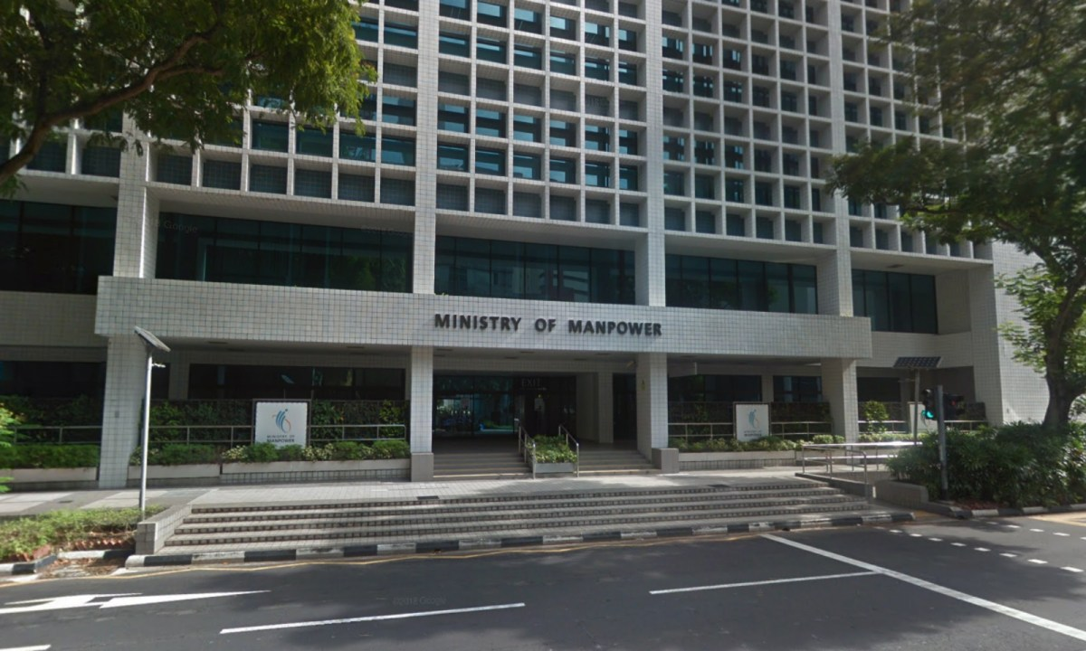 The Ministry of Manpower, Havelock Road, Singapore. Photo: Google Maps
