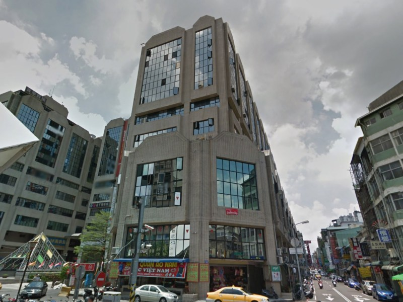 ASEAN Square on Luchuan West Street, Central district, Taichung, Taiwan. Photo: Google Maps