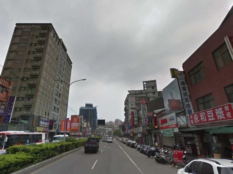 Section 2 of Datong Road in Xizhi district in New Taipei City, Taiwan. Photo: Google Maps