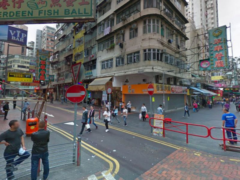 Jordan in Kowloon where the assault took place. Photo: Google Maps