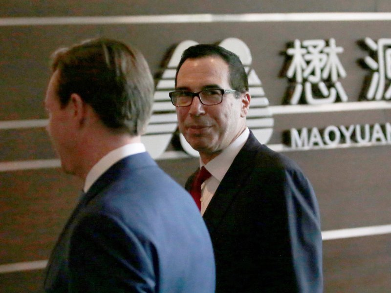 US Treasury Secretary Steven Mnuchin. Photo: Reuters/Jason Lee