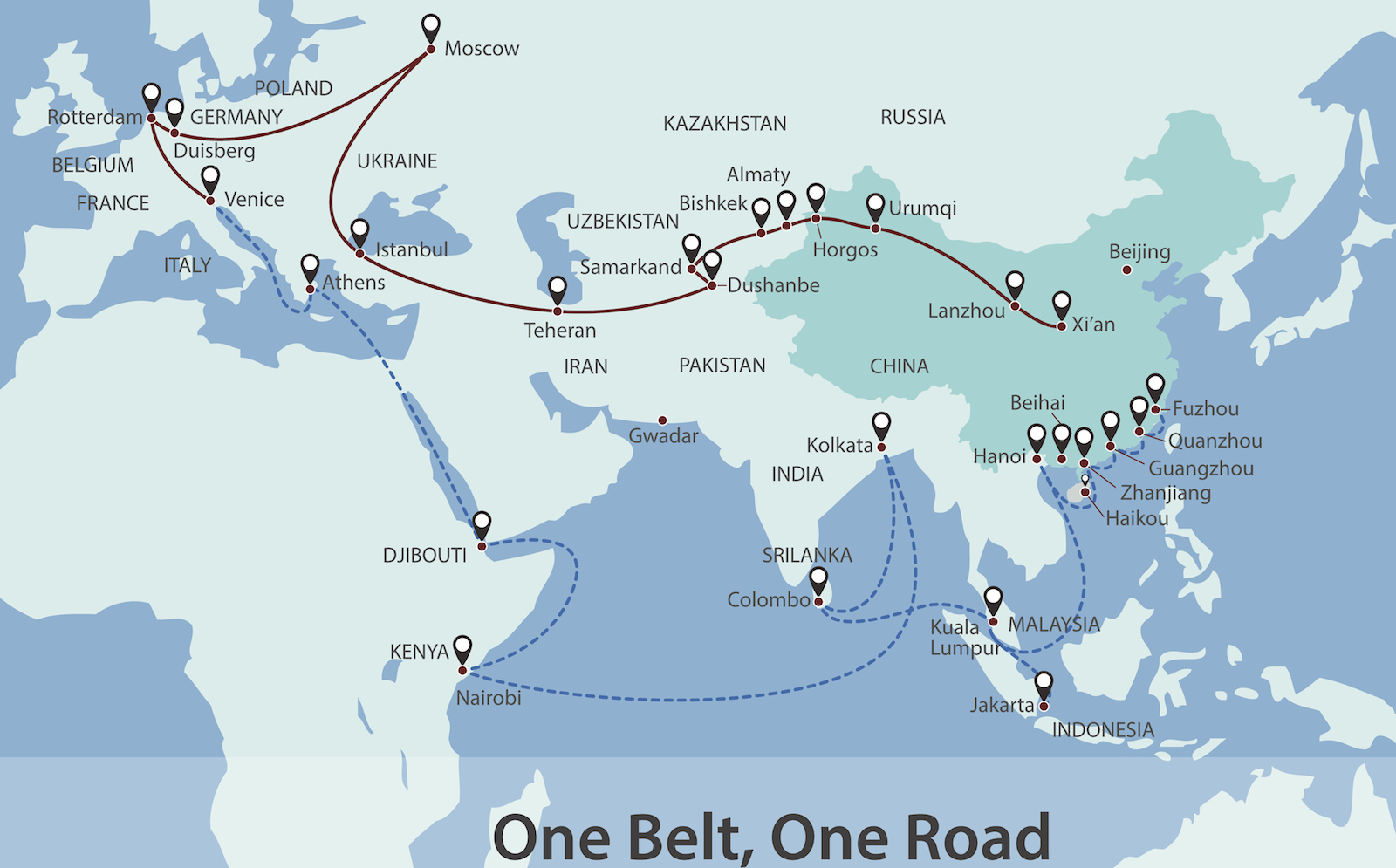 Europe Sees Few Benefits From China S Belt And Road Asia Times
