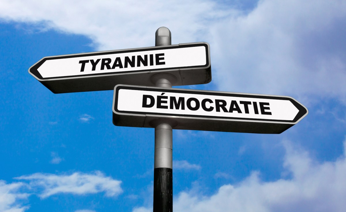 The growth of anti-democratic governments around the globe is a worrying trend, but shouldn't be considered irreversible. Western democracies must put their own houses in order to set an example to countries where backsliding into authoritarianism is rampant. Image: iStock