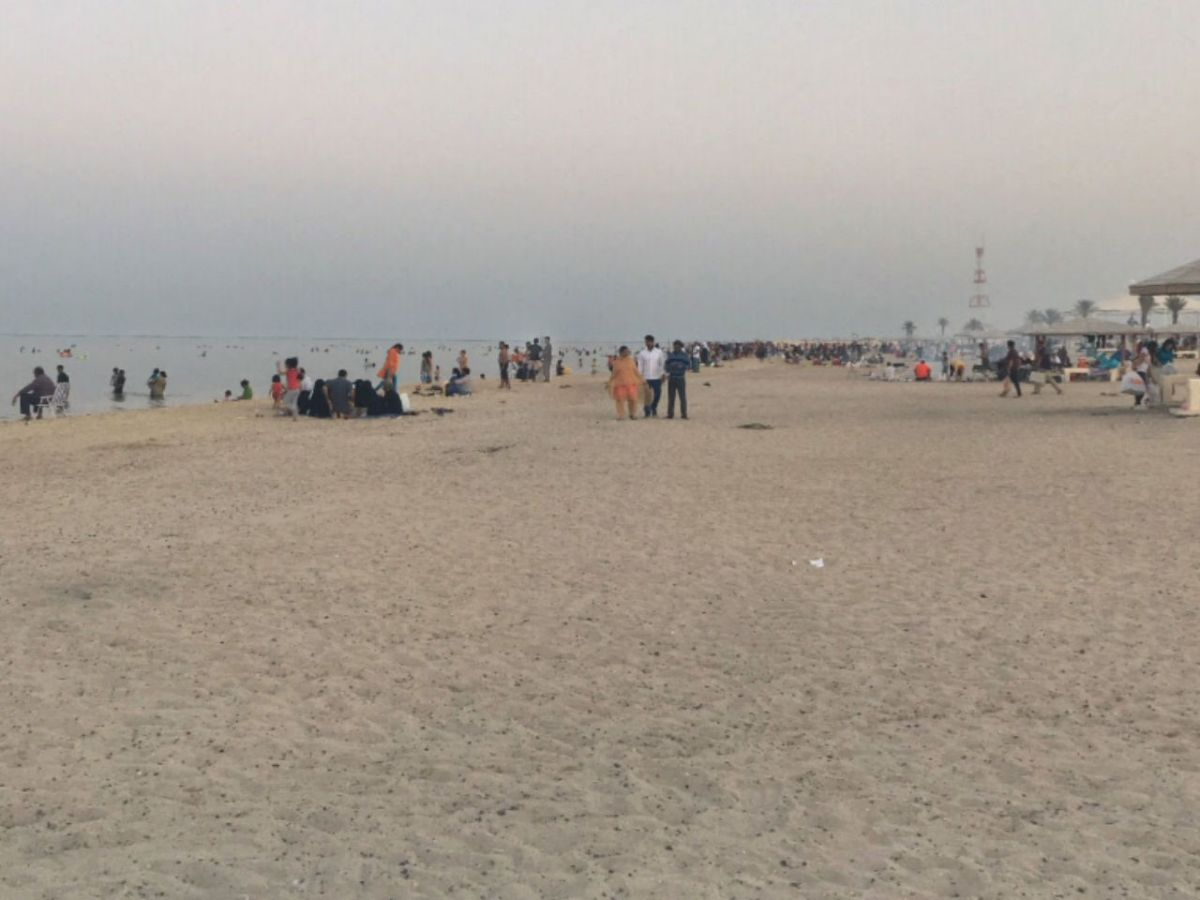 Al Wakrah Beach in Doha, Qatar. Photo: Google Maps