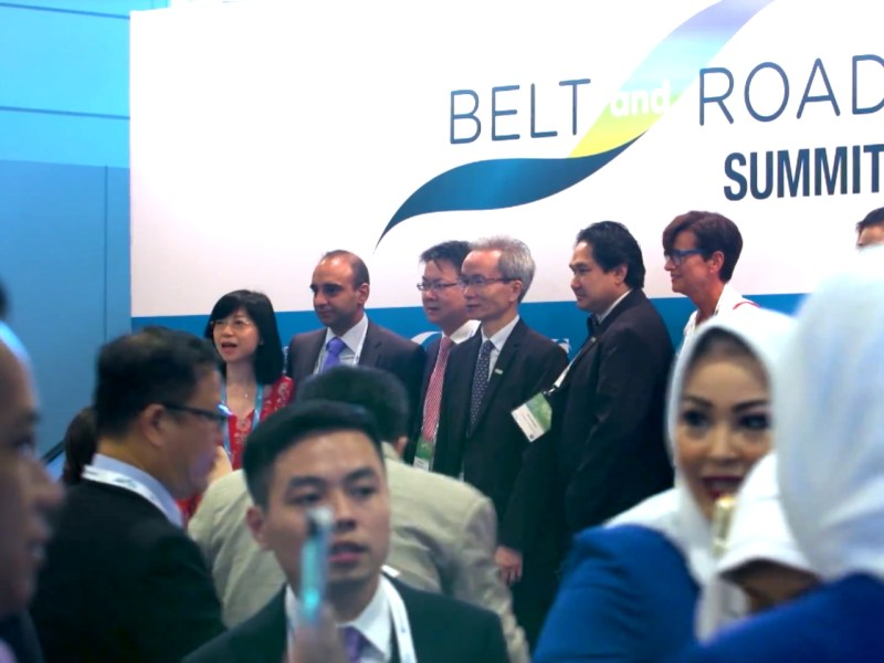 Belt and Road Summit 2017 in Hong Kong Photo: www.beltandroadsummit.hk