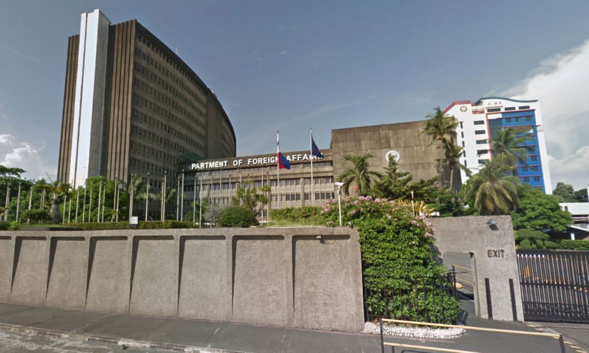Department of Foreign Affairs in Manila. Photo: Google Maps