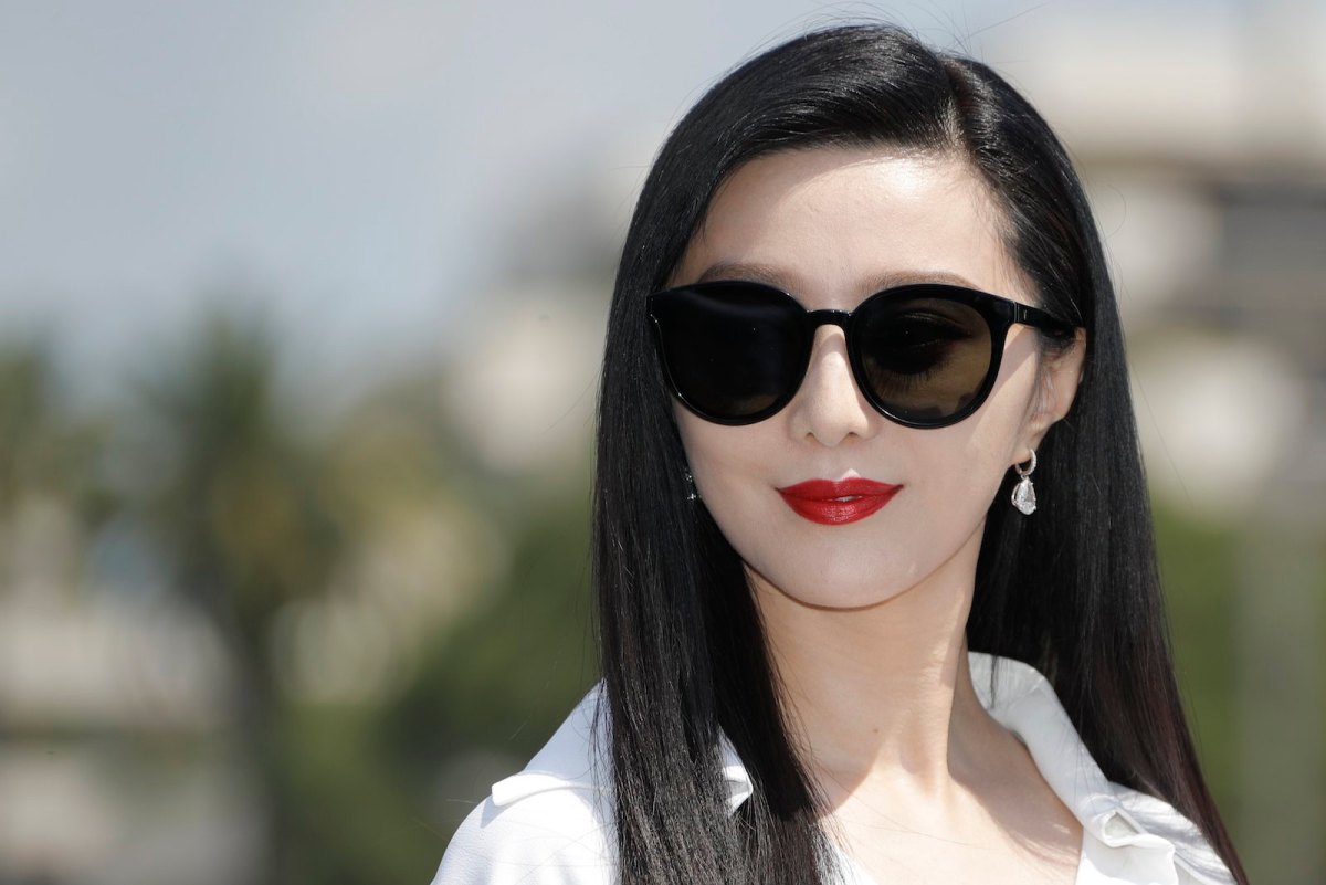 Fan Bingbing at the Cannes Film Festival on May 10, 2018. Photo: Reuters / Eric Gaillard