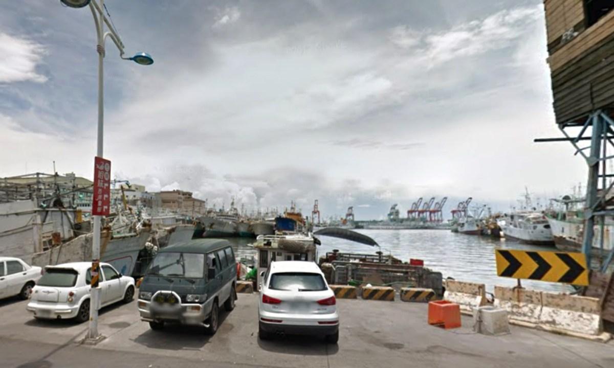 A Filipino man tried to kill himself in Ch'ien-chen Harbor in Kaoshiung. Photo: Google Maps