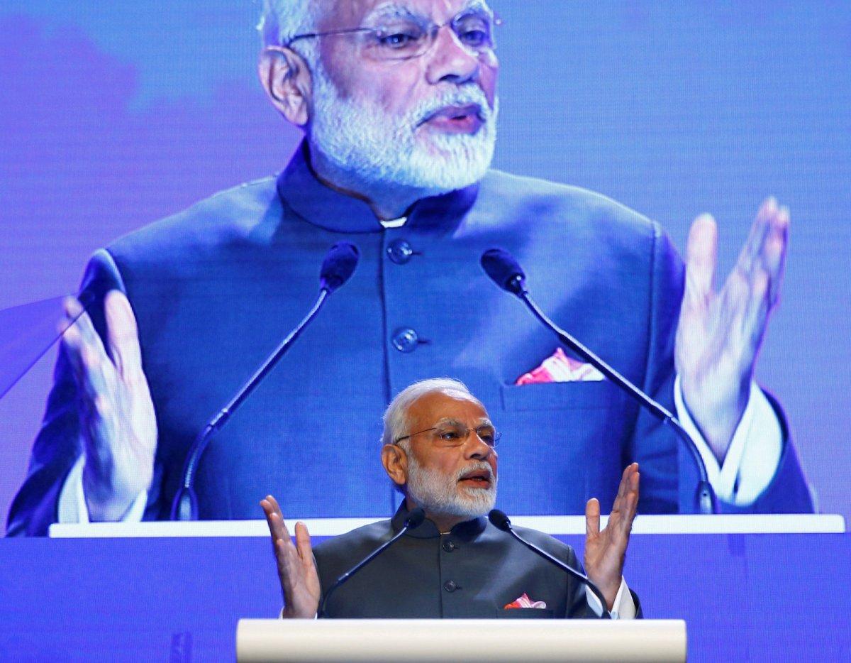 India's Prime Minister Narendra Modi. Photo: Reuters/Edgar Su