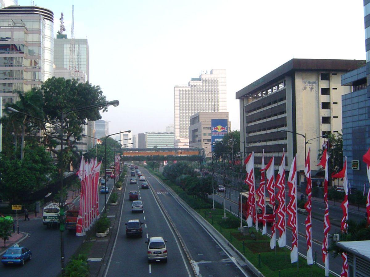 Jakarta, the capital of Indonesia. Photo: Wikimedia Commons