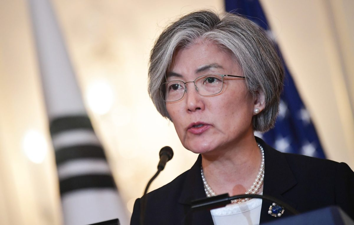 South Korea's Foreign Minister Kang Kyung-wha updated the media on Wednesday but gave away few details. Photo: AFP/Mandel Ngan