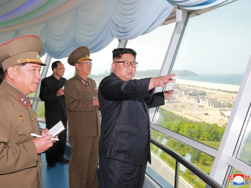 North Korean leader Kim Jong-un has shuffled his senior military staff. Photo: Reuters/KCNA