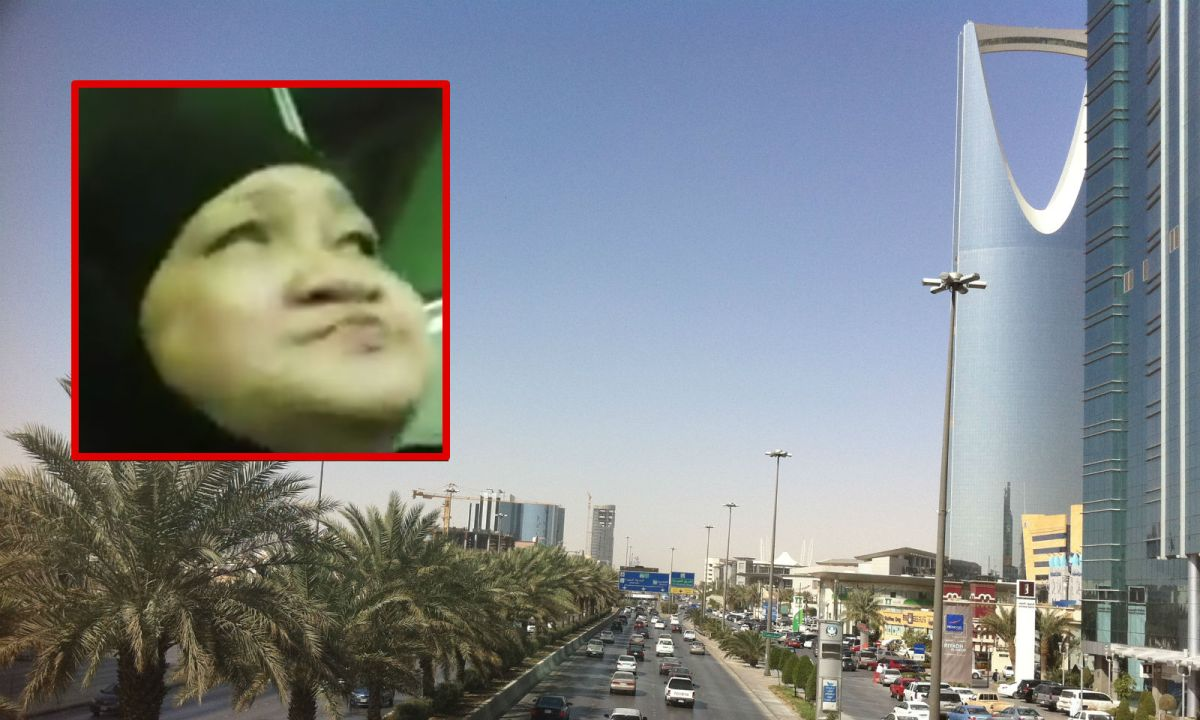 Filipino domestic worker Yolanda Aniban Visitacion, who has worked in Riyadh, Saudi Arabia, has allegedly been abused by her employer. Photo: Facebook/Wikimedia Commons