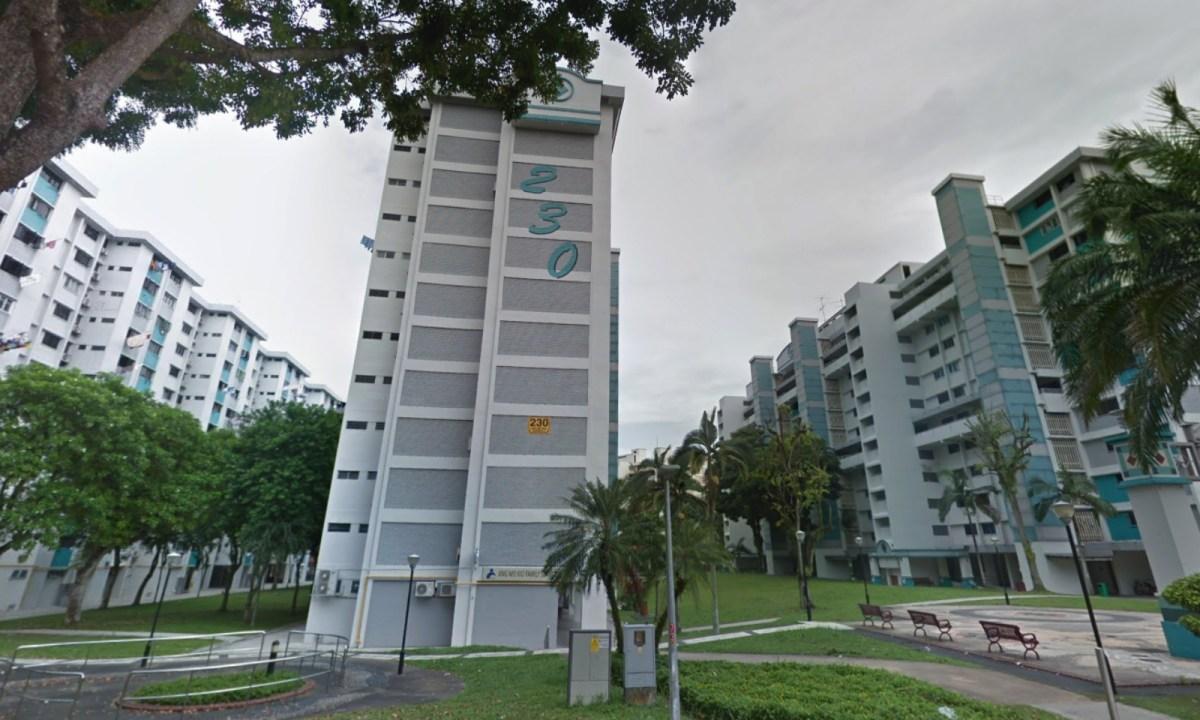 The Ang Mo Kio Family Service Centre at Blk 230 Ang Mo Kio Ave 3. Photo: Google Maps