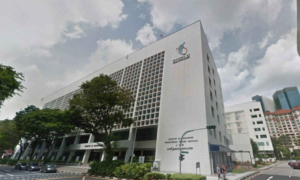 The Ministry of Manpower on Havelock Road in Singapore. Photo: Google Maps