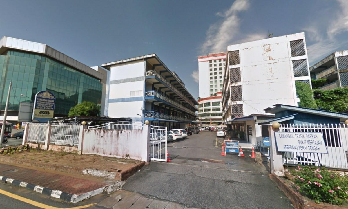 Police station in Bukit Mertajam, Pulau Pinang, Malaysia. Photo: Google Maps