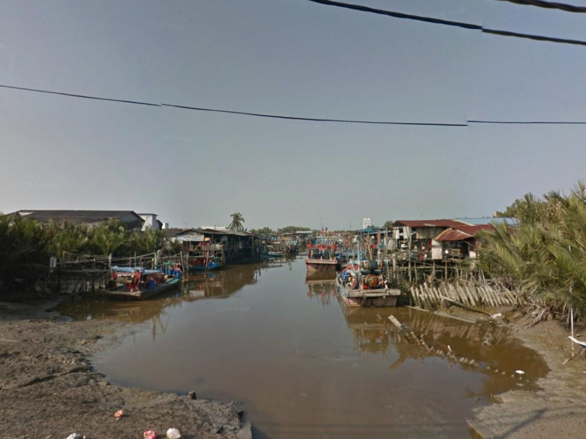 Sekinchan in Sabak Bernam district in Selangor, Malaysia. Photo: Google Maps