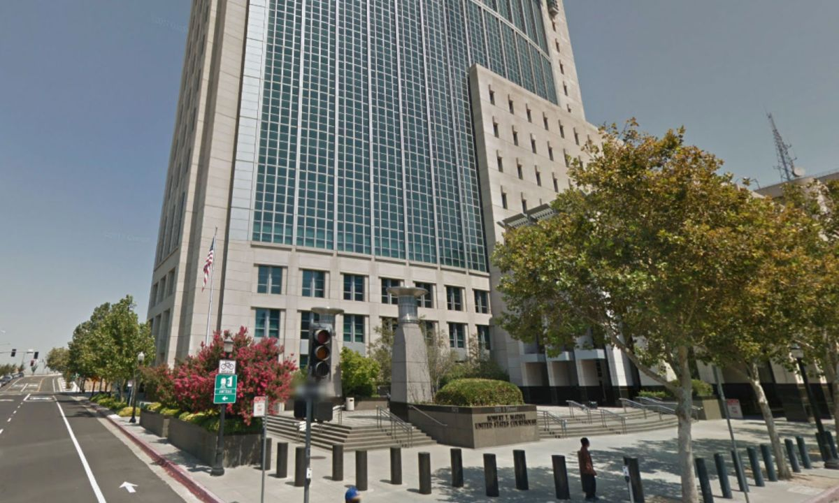 US District Court, Eastern District of California. Photo: Google Maps