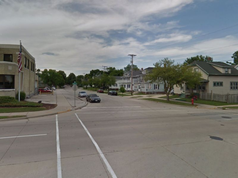 Sheboygan, Wisconsin in the United States. Photo: Google Maps