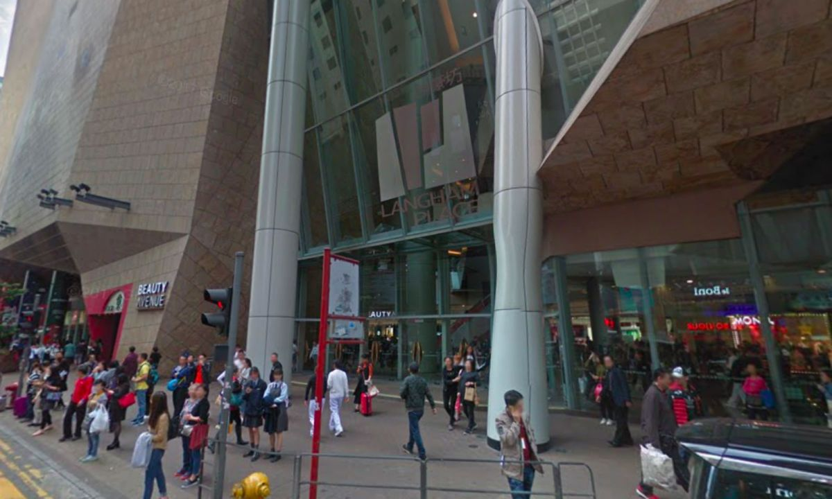 Langham Place in Mong Kok, Kowloon Photo: Google Maps