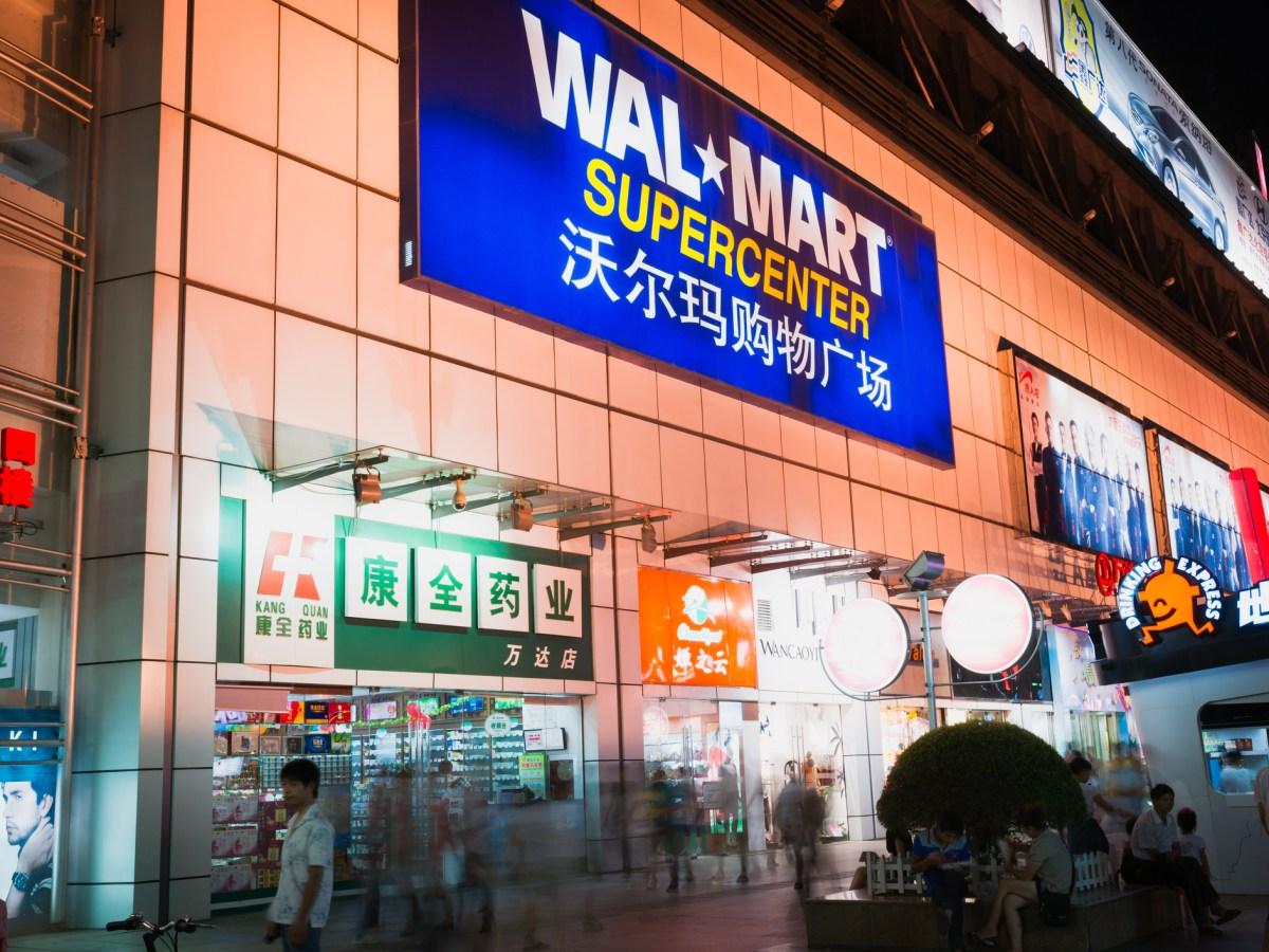 Walmart supermarket in Nanning city, China. Photo: iStock